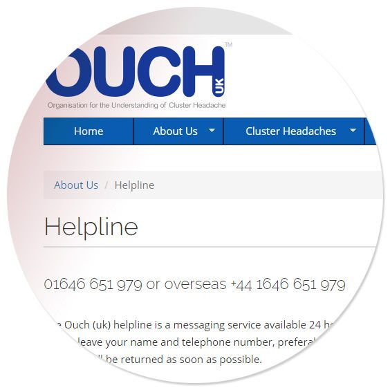 OUCH(uk) responsive website design