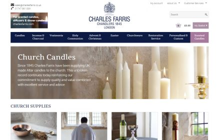 E-commerce Website for Wiltshire Company Charles Farris