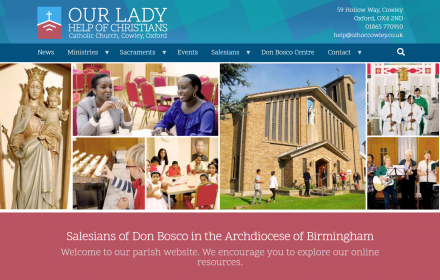 Drupal 8 church website