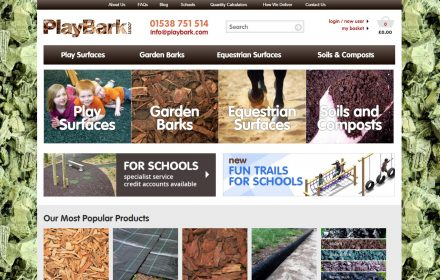 Drupal Ecommerce website for Playbark