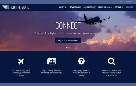 Flight School Reviews Website